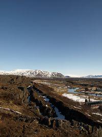 Fissures at Thingvellir April 08