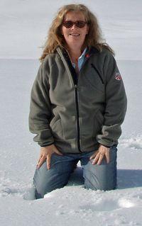 Lorraine on Josef Franz glacier