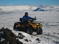 Quadbiking Iceland winter