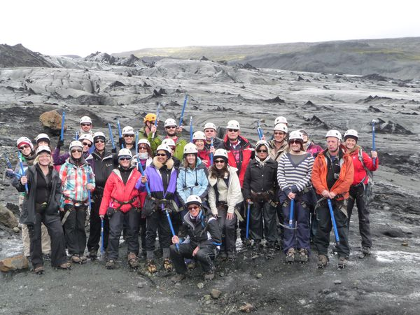 Solheimajokull Glacier group