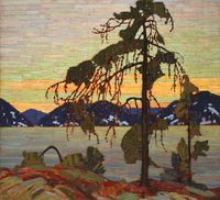 Tom Thomson, The Jack Pine, 1916 1917, National Gallery of Canada, Ottawa, Photo © NGC