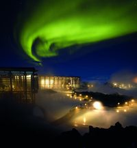 Aurora over the Blue Lagoon- Ragnar TH Sigurdsson