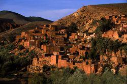 Village in Tizi N'Test
