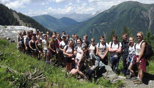 Bossons Glacier - Group shot