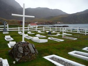 Grytviken Whalers Cemetery, South Georgia