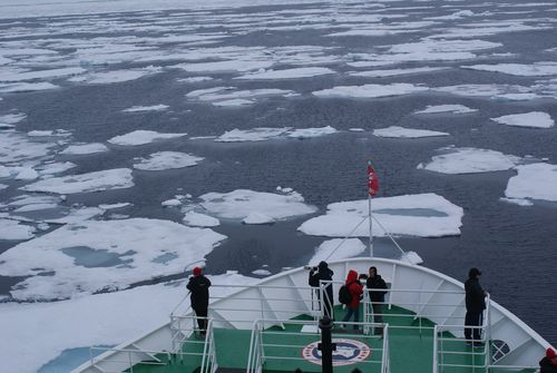 MS Expedition in the Arctic Ocean