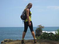 Kat in Costa Rica