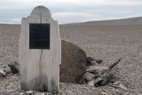 Grave from Franklin Expedition, Beechey Island
