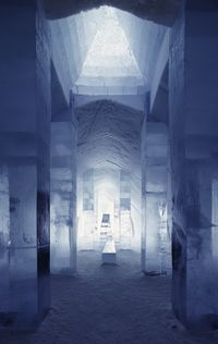 Main Hall - by ICEHOTEL Art & Design Group  - Photo Christopher Hauser