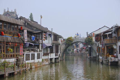 Shanghai - Zhujiajiao water village 3