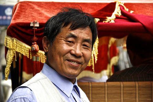 Beijing - Rickshaw driver
