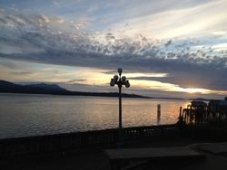 Alert Bay Sunset