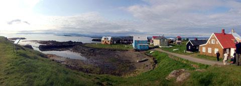 Flatey-Island-Pano