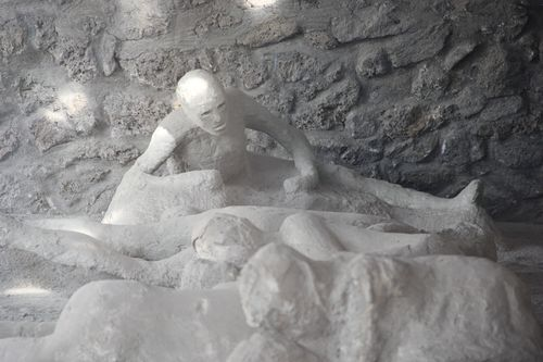 Victims of the 79AD Vesuvius eruption, Pompeii