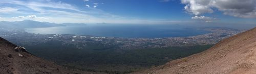 Bay of Naples panorama from Vesuvius