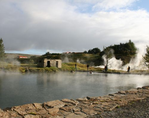 Secret Lagoon  - Iceland's oldest geothermal bathing pool