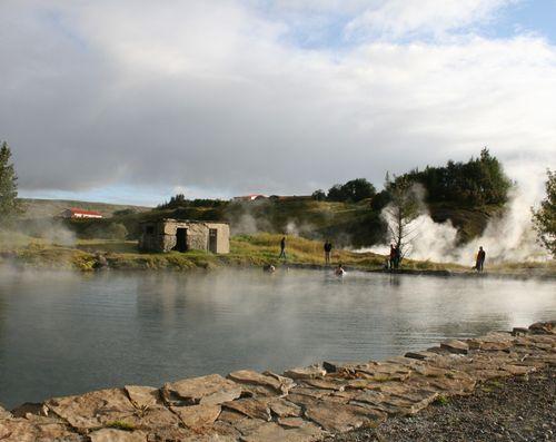 Secret Lagoon  - Iceland's oldest geothermal bathing pool