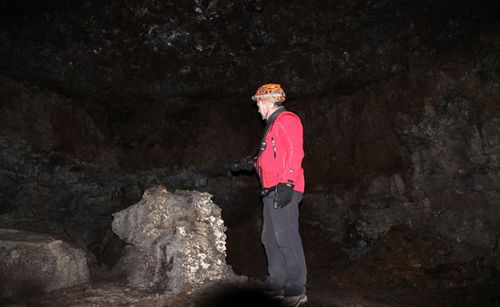 Vatnshellir Lava Tube Caving