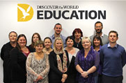 The Discover the World Education team